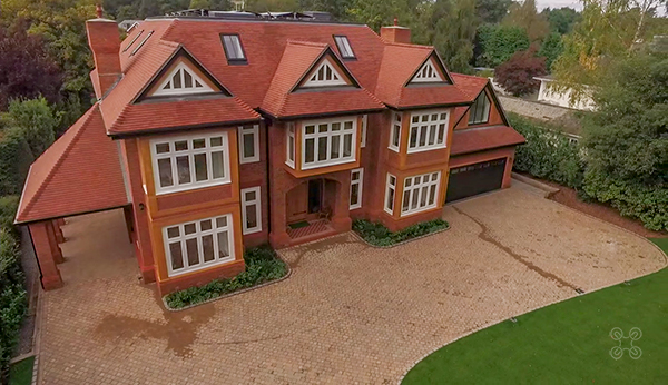 Aerial Property Photography for Houses and Land Estate Agents